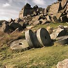Stanage Edge Millstones by Jonnyfez
