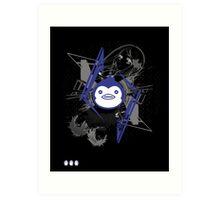 Mawaru PenguinDrum T-shirt Art Print