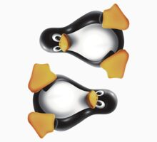Linux Tux ×2 by csyz ★ $1.49 stickers