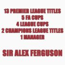 Alex Ferguson Titles by tappers24