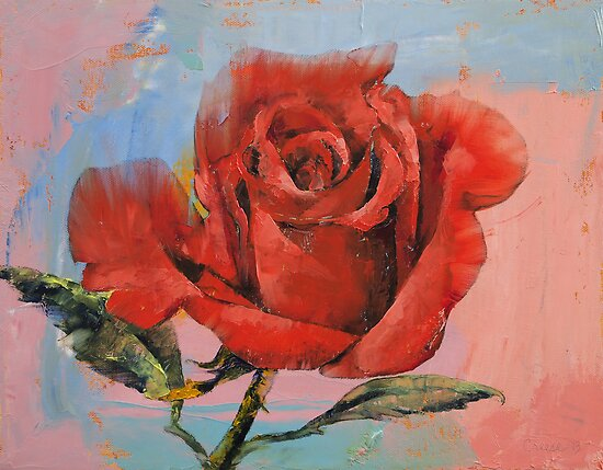 Rose by Michael Creese