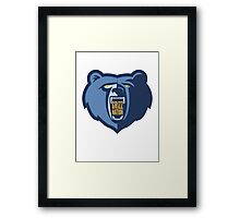 Grizz Nation Framed Print