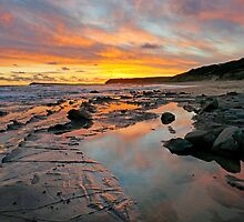 Kilcunda Sunset II by Harry Oldmeadow