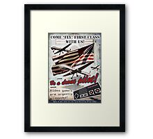 Be a Drone Pilot! Framed Print