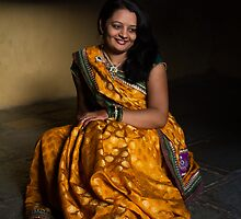 Traditional Attire of India women by Biren Brahmbhatt