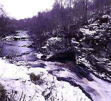 Falls of Shin by Errrnie