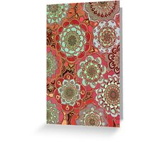 Baroque Obsession Greeting Card