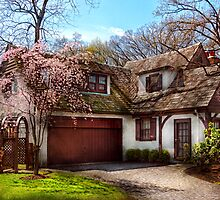 House - Westfield NJ - Who doesn't love spring  by Mike  Savad