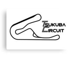 Shrine Series: Tsukuba Circuit Canvas Print