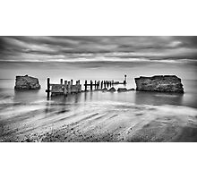 Beach Defences Photographic Print