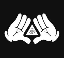 illuminati Mickey hands by DaWombat