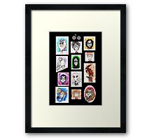 Potter Cast Framed Print