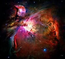 Orion Nebula by RickyBarnard