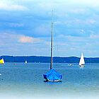 Ammersee boats by The Creative Minds