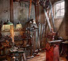 Machinist - The modern workshop  by Mike  Savad