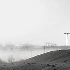 Foggy Nebraska Morning by andrewjloftis