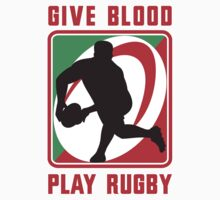 rugby give blood play rugby by patrimonio