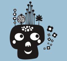 Funny skull. by Ekaterina Panova