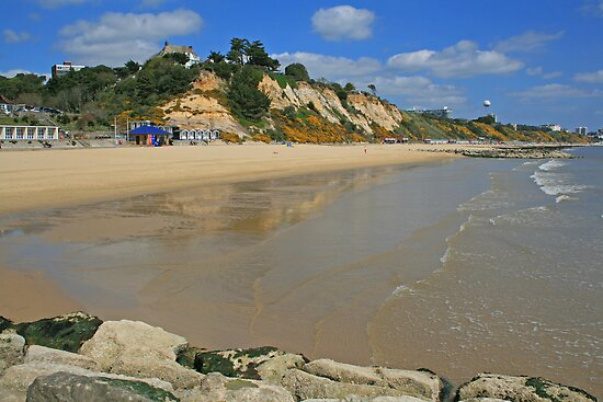 Branksome Beach by RedHillDigital