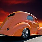 1938 Willys Sedan Sunset I by DaveKoontz