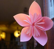 paper star flower by shireengol