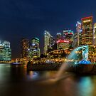 THe Civil Twilight Singapore City by arthit somsakul