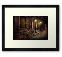 Bike - NY - Greenwich Village - In the village  Framed Print