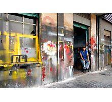 People 0715 (Bogota, Colombia) Photographic Print