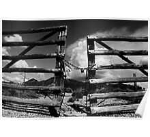 Locked Up in Nowhere Landscape Poster