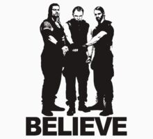 BELIEVE - THE SHIELD by Bucky Sentry