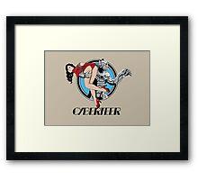 Cyberteer Print Framed Print