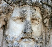 Relief of A Roman God by taiche