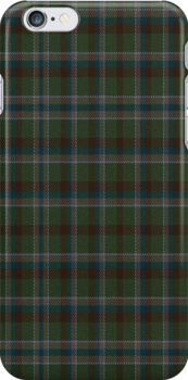 01928 Wolfley Hunting Tartan Fabric Print Iphone Case by Detnecs2013