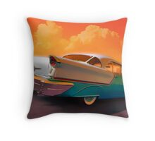 Rocket to Nashville Throw Pillow
