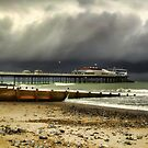 Cromer Pier Storm by Avril Harris