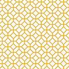 Orange Cream Tiles by Courtney Hubley