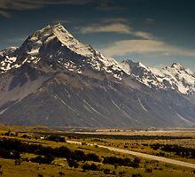 Mt. Cook, New Zealand by kutayk