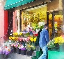 Neighborhood Flower Shop by Susan Savad