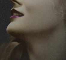 Silent Actress Sticker