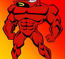 Crimson Chin Greeting Card by GiraffesAreCool