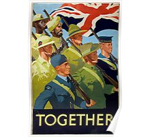 WWII Recruitment Poster Poster