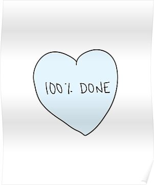 100% Done Heart by laurenschroer