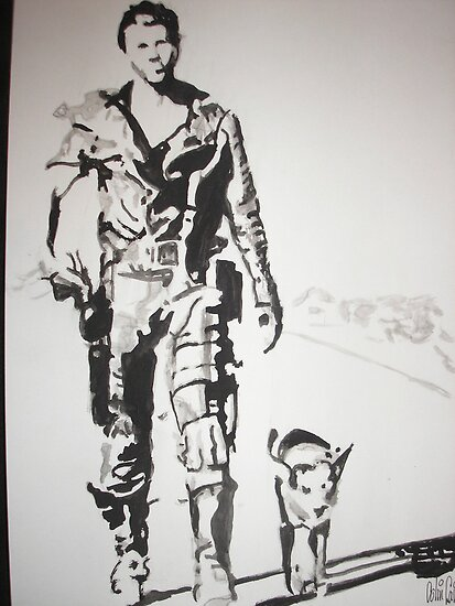 Mad Max by Colin  Laing