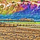 Colourful Cromer Pier by Avril Harris