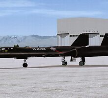 "Lockheed SR-71 ""Blackbird"" by Walter Colvin"