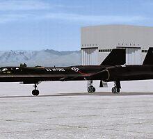 """Lockheed SR-71 """"Blackbird"""" by Walter Colvin"""