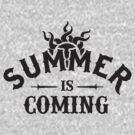 ''Summer is coming'' Dark Grey by DaCompany