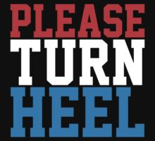 Please Turn Heel (John Cena) by Bob Buel