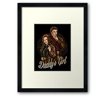 Daddy's Girl Framed Print