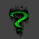 Green question Mark Art apple iphone 5, iphone 4 4s, iPhone 3Gs, iPod Touch 4g case by Pointsalestore .com